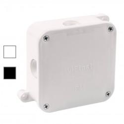 Puszka biała n/t IP44 4-wkręty pusta 064-01 VIPLAST