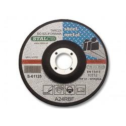 Tarcza do szlifowania metalu 125x6,0 S-61125 Stalco