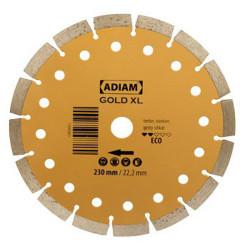 Tarcza diamentowa segmentowa Gold XL 230mm ADIAM