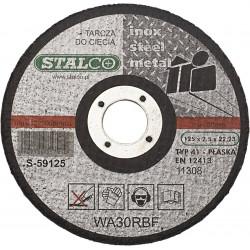 Tarcza do cięcia metalu 115x1 S-59015 Stalco