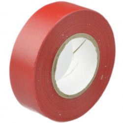 Taśma izolacyjna 19x20m czerwona S-38730 Stalco