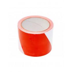 Taśma ostrzegawcza biało-czerwona 8cmx100m 75233 VOREL