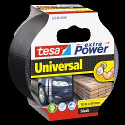 Taśma naprawcza extraPower 10m/50mm czarna Tesa