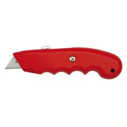 Nożyk z ostrzem trapezowym 61x19mm metalowy VOREL