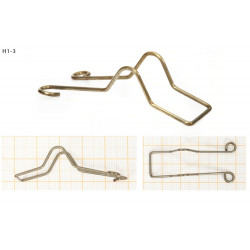 Drucik uniwersalny zapinka do żarówki (H1-3) 1szt