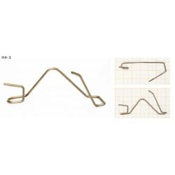 Drucik uniwersalny zapinka do żarówki (H4-3) 1szt