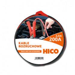 Wiązka przewodów rozruchowych 200A 2.5m 82502 HICO