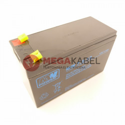 Akumulator AGM LMRA 12V 7.2Ah F1 Terminal