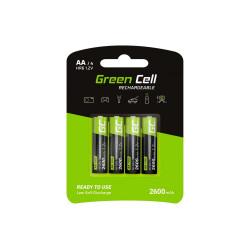 Akumulatorki 4xAA HR6 2600mAh Green Cell GR01