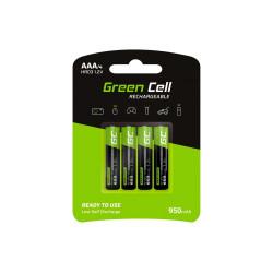 Akumulatorki 4xAAA HR03 950mAh Green Cell GR03
