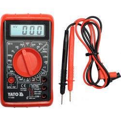 Miernik cyfrowy uniwersalny, buzer YT-73080 YATO