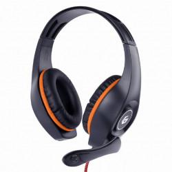 Słuchawki przewodowe z mikrofonem Gaming GHS-05-O Gembird