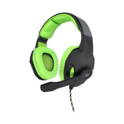 Słuchawki przwodowe z mikrofonem Gamingowe LIZARD Jack + adapter ART