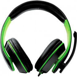 Słuchawki przewodowe z mikrofonem CONDOR EGH300G green ESPERANZA
