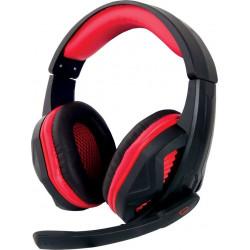 Słuchawki przewodowe z mikrofonem nauszne ARROW EGH360 red ESPERANZA