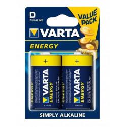 Bateria VARTA Energy alkaiczne LR20 1,5V 4120 opakowanie 2 sztuki VARTA