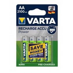 Akumulatorki VARTA 2100mAh AA HR-6 opakowanie 4 sztuki VARTA