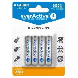 Akumulatorki AAA 750mAh EVHRL03 opakwoanie 4 sztuki EverActive