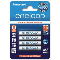 Akumulatorki Eneloop AAA 750mAh 4 sztuki Panasonic