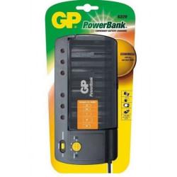 Ładowarka akumulatorowa GP PB320 AA/AAA/C/D/9V + test GP