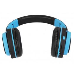 Słuchawki bezprzewodowe z mikrofonem AP-B04-B czarno-niebieski ART