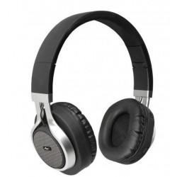 Słuchawki bezprzewodowe z mikrofonem AP-B04 czarno-srebrne ART