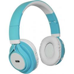 Słuchawki bezprzewodowe z mikrofonem AP-B04-C biało-turkusowe ART
