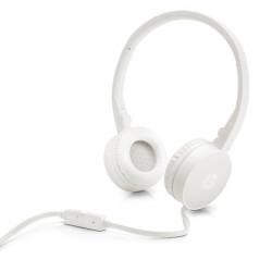 Słuchawki przewodowe z mikrofonem H2800 białe HP