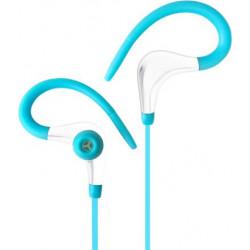 Słuchawki z mikrofonem AP-BX61-G turkusowe Sport ART