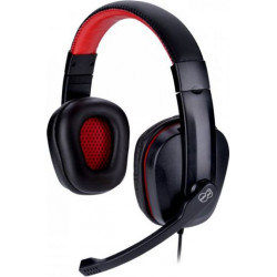 Słuchawki z mikrofonem TAKE ME Junior black-red TRACER