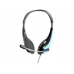 Słuchawki z mikrofonem Office Blue mini-jack TRACER