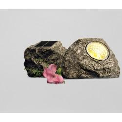 Lampa ozdobna solarna kamień 3-LED 254859 Tchibo