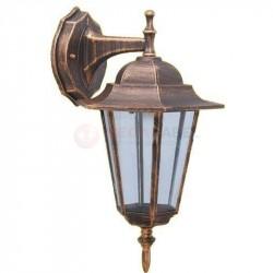 Lampa zewnętrzna kinkiet K-5009A DOWN Black-Gold KAJA