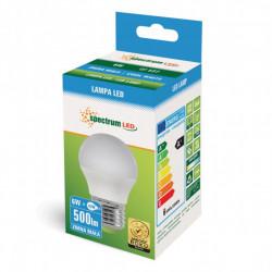 Żarówka LED E27 6W 500lm 6500K zimna WOJ13025 SPECTRUM