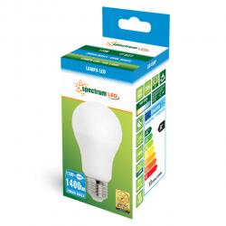 Żarówka LED E27 13W 230V b.zimna GLS ECO Spectrum