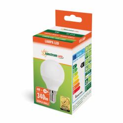 Żarówka LED kulka E14 4W 230V b.ciepła Spectrum