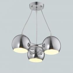 Lampa INES III CH chrome zwis E27 3x40W Vitalux