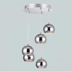 Lampa sufitowa ARTEMIDA-5 chrom GU10 5x50W Vitalux