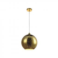 Lampa kula 3D K-8003-25 Gold zwis E27 60W Kaja