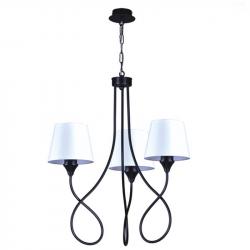 Lampa K-3410 III zwis black 3xE27 60W Kaja