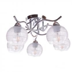 Lampa sufitowa CASERTA-5 chrom E27 5x60W Vitalux