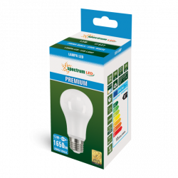Żarówka LED GLS PREMIUM E27 13W zimna Spectrum