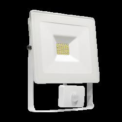 Naświetlacz LED NOCTIS LUX 20W CW +sensor white