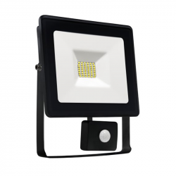 Naświetlacz LED NOCTIS LUX 10W NW +sensor black Spectrum