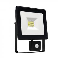 Naświetlacz LED 20W czujnik ruchu 3000K black NOCTIS Spectrum