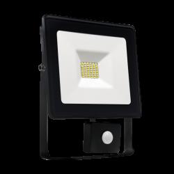 Naświetlacz LED NOCTIS LUX 30W CW +sensor black Spectrum