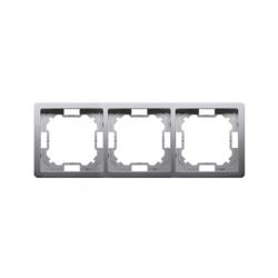 Basic Ramka na 3-moduły BMR3/21 inox