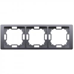 Basic Neos ramka 3-krotna BMRC3/43 srebrny