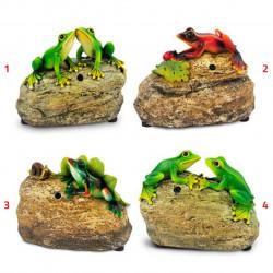 Figurka dekoracyjna żabka mix SG70706 +PIR Polux