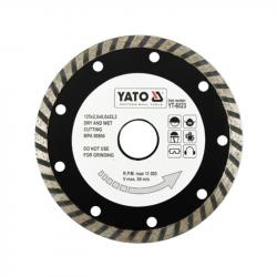 Tarcza diamentowa turbo 125mm YT-6023 YATO